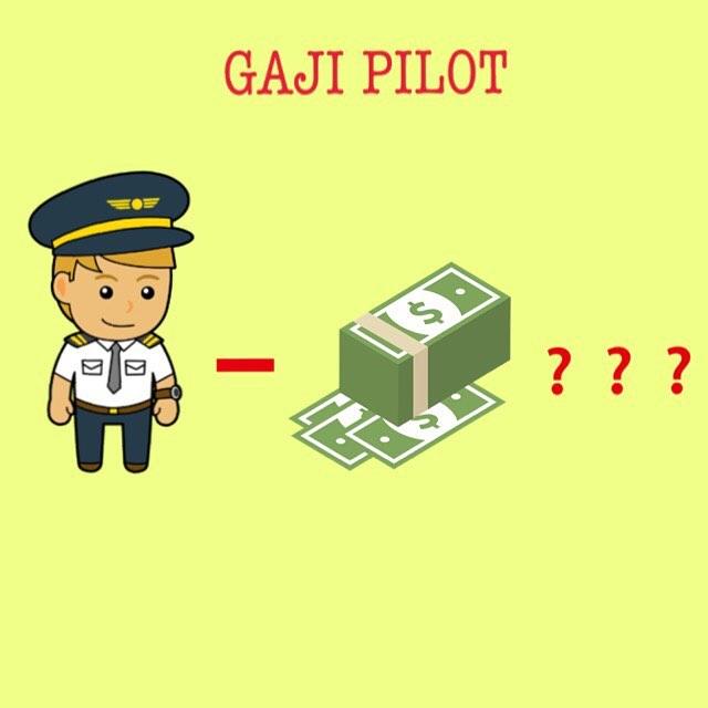 Take Home Pay Pilot bisa Rp. 100 hingga Rp. 150 juta per bulan